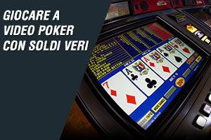 Giocare a video poker con soldi veri