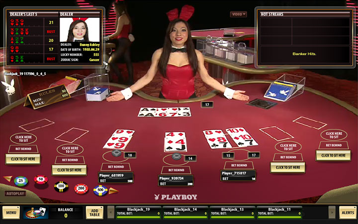 blackjack live playboy croupier