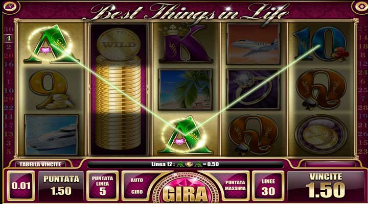 slot best things in life