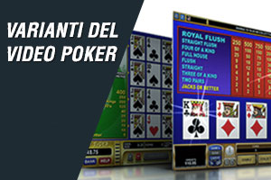 varianti del video poker