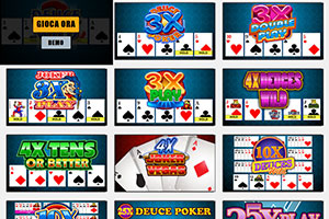 video poker demo