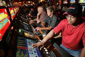 video poker players