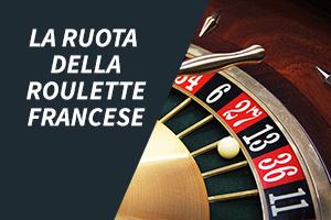 La ruota della roulette francese