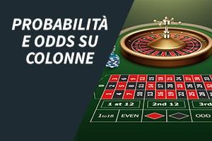 Probabilità e odds su colonne
