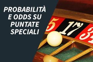 Probabilità e odds su puntate speciali