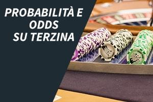 Probabilità e odds su terzina
