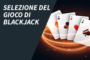 Selezione Del Gioco Di Blackjack