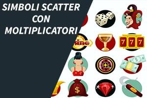 Simboli Scatter con moltiplicatori