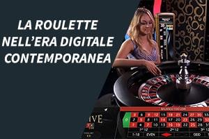 La roulette nell'era digitale contemporanea