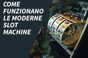 Come funzionano le moderne slot machine