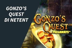 Gonzo's Quest di NetEnt