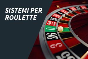 Sistemi per roulette