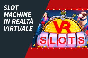 Slot machine in realtà virtuale
