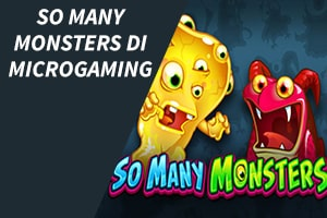 So Many Monsters di Microgaming