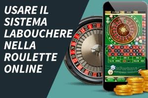 Usare il sistema Labouchere nella roulette online