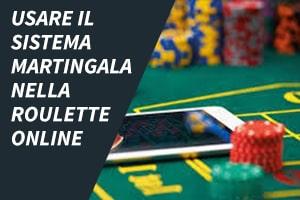 Usare il sistema martingala nella roulette online