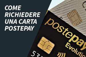 Come richiedere una carta Postepay