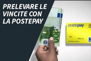 Prelevare le vincite con la Postepay