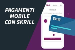 Pagamenti mobile con Skrill